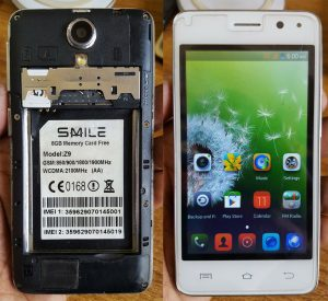 Smile Z9 Flash File Firmware Download
