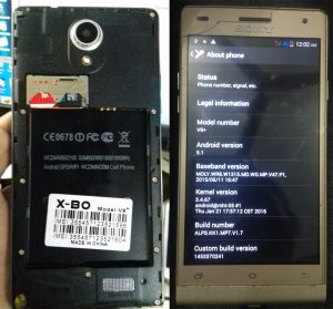 Sony Clone XBO V9+ Flash File