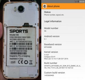 Sports S6 Flash File Firmware Download