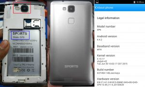 Sports SP9 Flash File Firmware Download