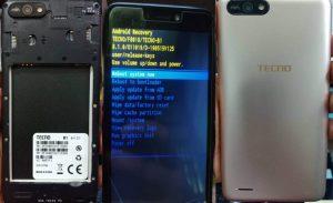 Tecno B1 Flash File All Version DA Error Fixed Firmware