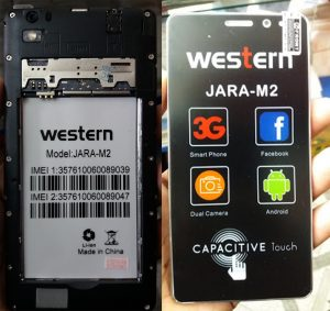 Western Jara M2 Flash File Firmware Download