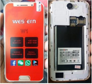 Western W1 Flash File Firmware Download