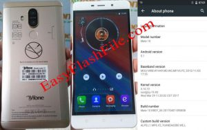Vfone Mate 10 Flash File Firmware Download