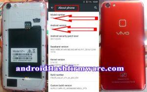 Vivo Clone V7+ Plus Flash File Firmware Download
