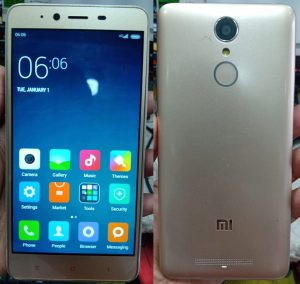 Mi Note 3 MTK Flash File Firmware Download