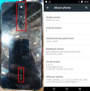 OPPO Clone F11 Pro Flash File Firmware Download