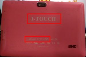 I-Touch C703 Flash File Firmware Download
