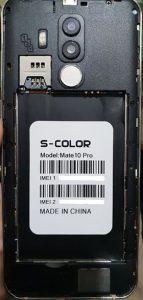 S-Color Mate 10 Pro Flash File