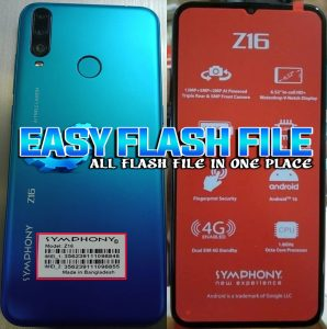 Symphony Z16 Flash File Firmware Download