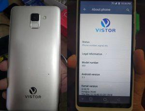 Vistor VS1 Flash File Firmware Download