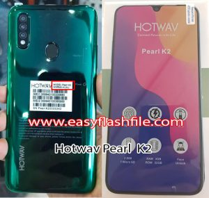 Hotwav Pearl K2 Flash File