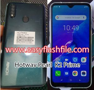 Hotwav Pearl K2 Prime Flash File