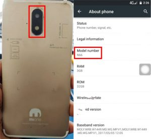 Mione N66 Flash File Firmware Download