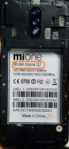 Mione Q7 Flash File Firmware Download
