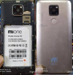 Mione X3 Flash File Firmware Download