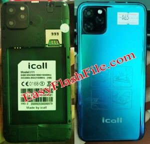 iCall Y11 Flash File