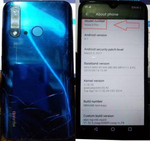 Huawei Clone Nova 5i Pro Flash File