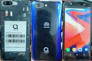 Qmobile Blue 5 Plus Flash File