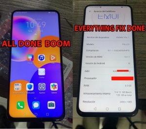 Huawei Y9a FRL-L23 Huawei ID Model Unknown OEM Imei Fix