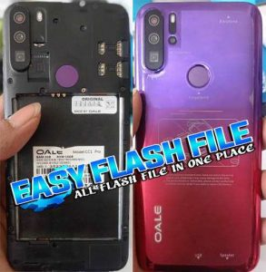 Oale CC1 Pro Flash File