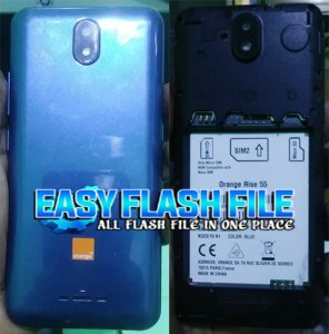 Orange Rise 55 Flash File Firmware Download