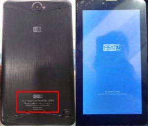Heatz Z9911 Tab Flash File MT6582 Firmware Download