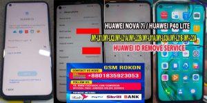 Huawei JNY-LX1 Huawei ID Remove Service