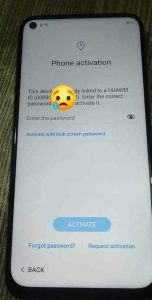 Huawei JNY-LX2 Huawei ID Remove Service