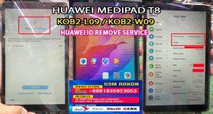 Huawei KOB2-L09 Huawei ID Remove Service
