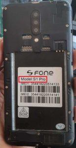 S Fone S1 Pro Flash File